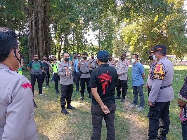 Antisipasi Covid-19, Petugas Gabungan  Bubarkan Pentas Barongan di Todanan Blora yang tidak Berijin dan Menimbulkan Kerumunan