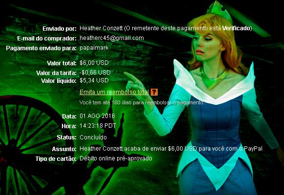 PapaiMark recebe pagamentos de DreamMails Fim1