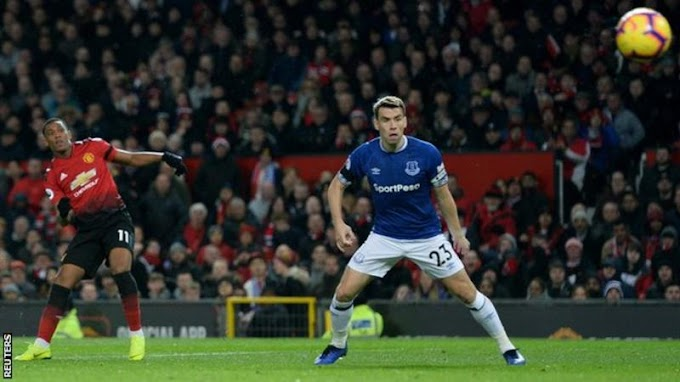 [Goals Highlight] Manchester United 2 – 1 Everton (WATCH)