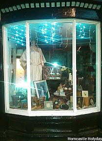 olde worlde antique shop window