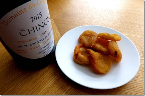 Chinon and Pears