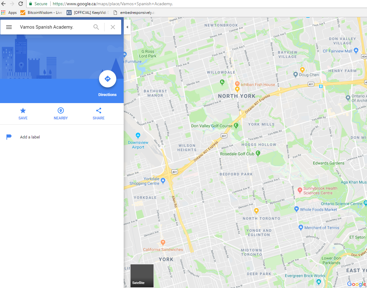 The URL to our Google Maps is not working  - Google Maps Help