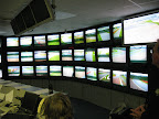 Race Control ? Silverstone, all cameras monitoring the circuit during the Lotus track day. (Keith Saunders)