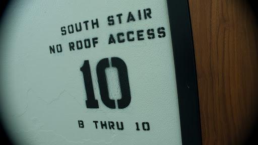 Stairwell at the Heathman