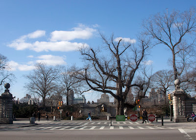 90th Street entrance to Central Park.