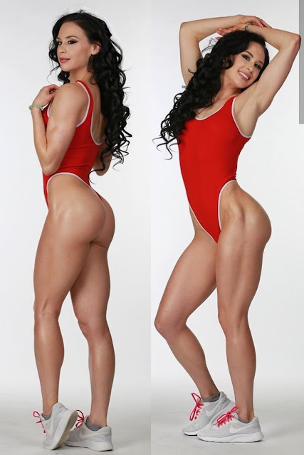 Ashley Kaltwasser fitness legs