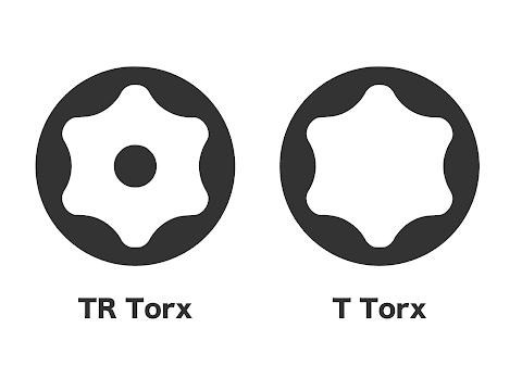 TR TorxとT Torx