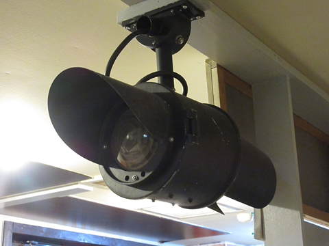 鉄道喫茶・居酒屋「ぽぷら」 札幌市営地下鉄 到着表示灯
