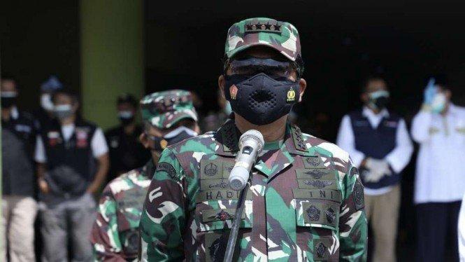 Panglima TNI Akan Kerahkan 200 Ribu Tenaga Vaksinator ke Bandung Raya