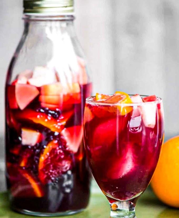 Red Sangria Recipe | Breakfast Care