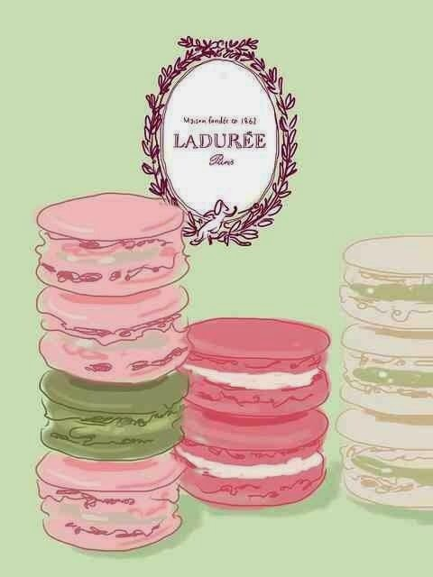 beauty shout box sunday sketches french macarons. Black Bedroom Furniture Sets. Home Design Ideas