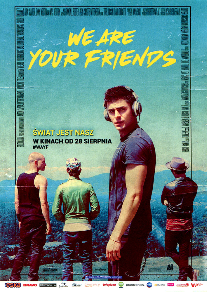 Ulotka filmu 'We Are Your Friends (przód - wersja B)'