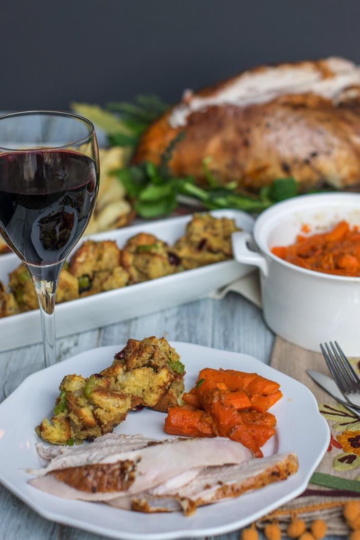 Gluten Free Thanksgiving glazed carrots recipe