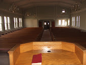 Inside sanctuary to be converted to all-purpose area