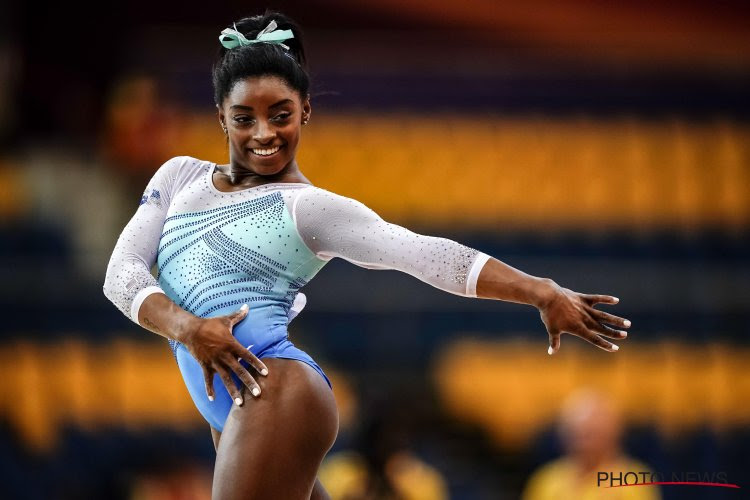🎥 Meer dan anderhalf miljoen keer bekeken: Simone Biles pakt uit met een waanzinnige sprong