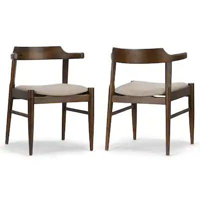 curved back modern dining chairs
