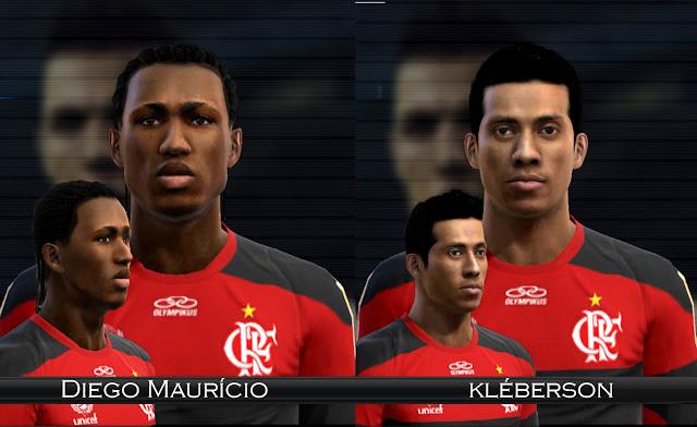 Diego Maurício e Kléberson Faces - PES 2012