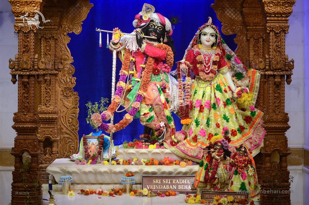 ISKCON GEV (Wada) Deity Darshan 28 Jan 2016 (3)