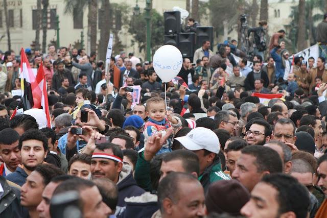Egyptian Revolution شريف الحكيم Baloonbaby