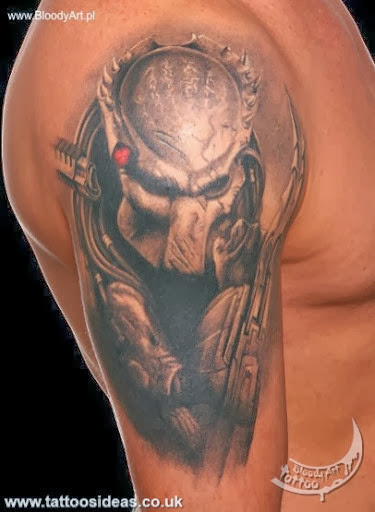 predator tattoos pictures tattoos ideas