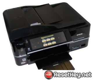 Reset Epson PX820WD printer Waste Ink Pads Counter