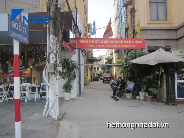 Mua bán nhà đất Hà Nội_Bán nhà tập thể ngõ 72 Nguyễn Chí Thanh