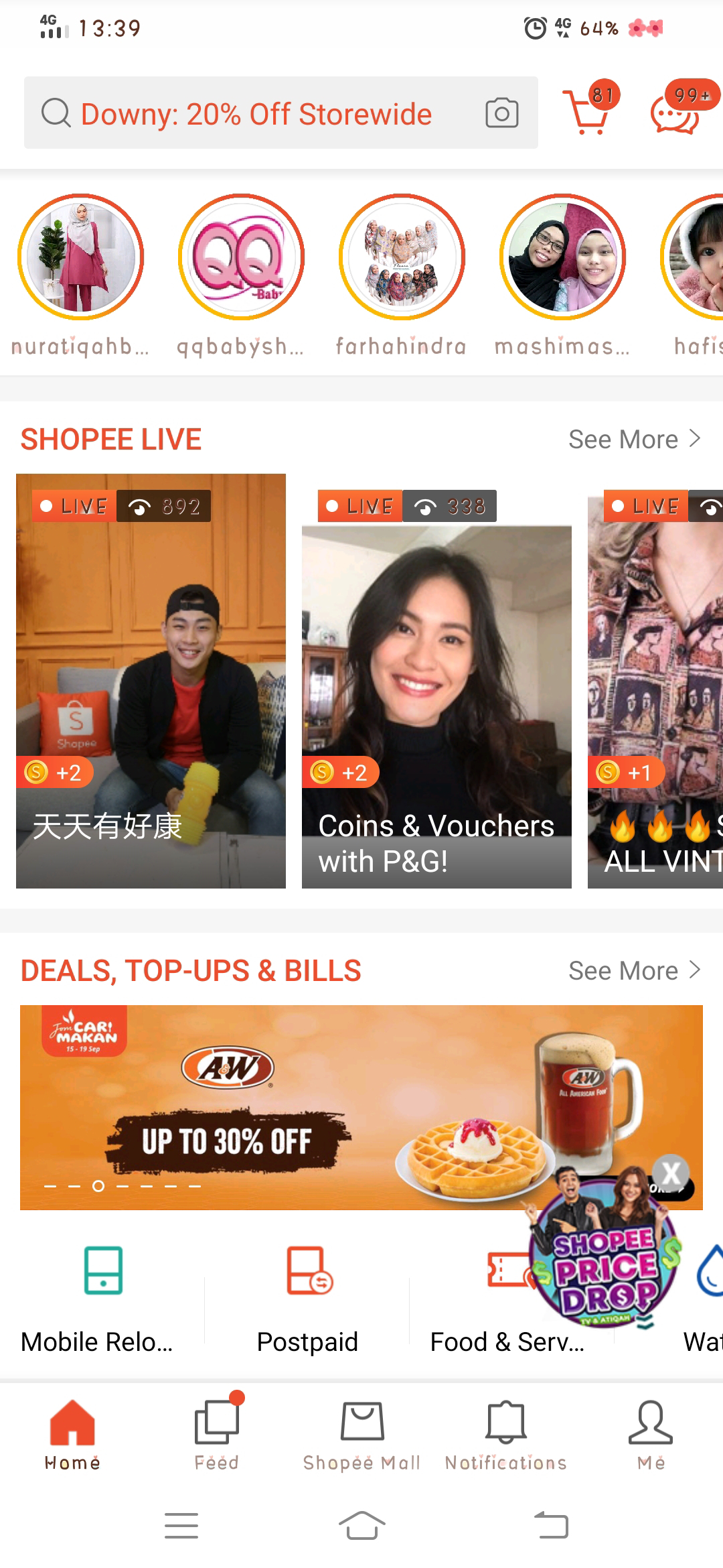 tutorial shopee live streaming