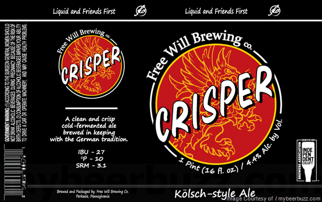 Free Will Brewing Crisper