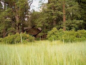 Ranger house in Sentinel Meadow