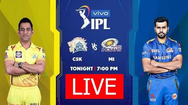 IPL 2021, CSK vs MI LIVE
