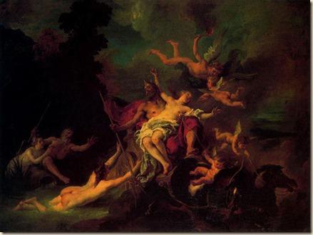El rapto de Proserpina – Alessandro Allori
