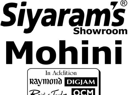 Mohini Siyaram Showroom - Best outlet mall of clothes and
