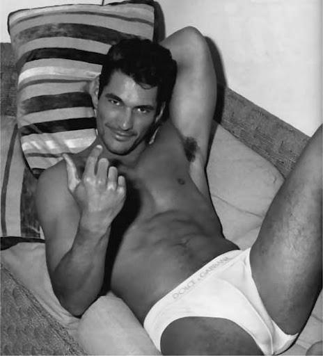 David Gandy, desnudo