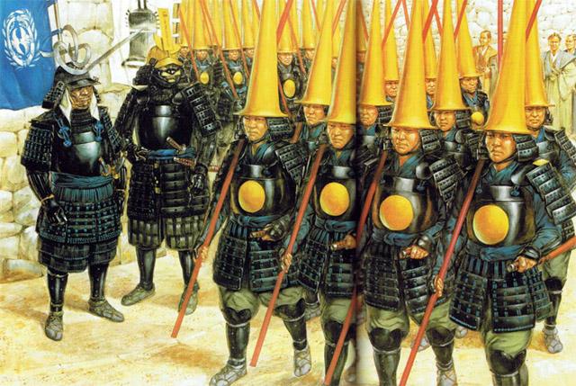[SENGOKU JIDAI] Unité de parade de DATE Masamune - WIP Date_SamuraiWarfare