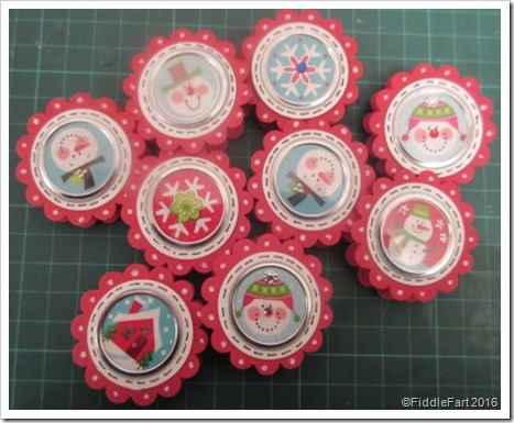 Elizabeth Shaw Mint Christmas Table Favours