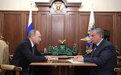 Putin, Sechin, Kremlin.