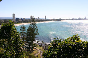 Trails in Burleigh Heads National Park along the Gold Coast