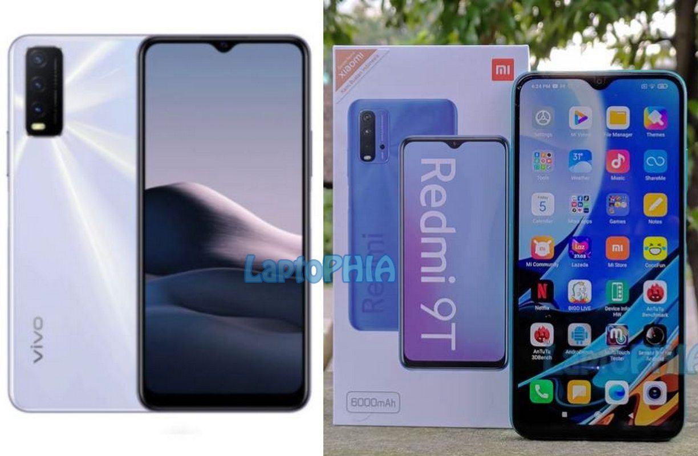 Komparasi Vivo Y20 2021 vs Xiaomi Redmi 9T: Memilih Smartphone 2 Juta-an Terbaik