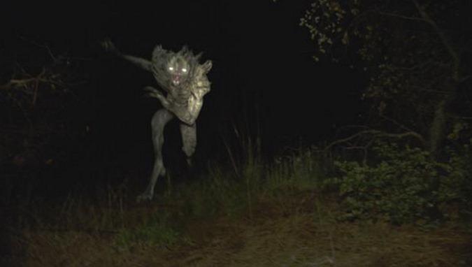 O Diabo de Jersey criaturas sobrenaturais.