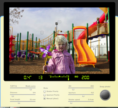 Practice And Simulate SLR Settings Without An Actual Camera With CameraSim