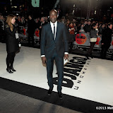 WWW.ENTSIMAGES.COM - Ozwald Boateng   arriving at  Django Unchained - UK film premiere at Empire Cinema, Leicester Square,London January 10th 2013 Photo Mobis Photos/OIC 0203 174 1069