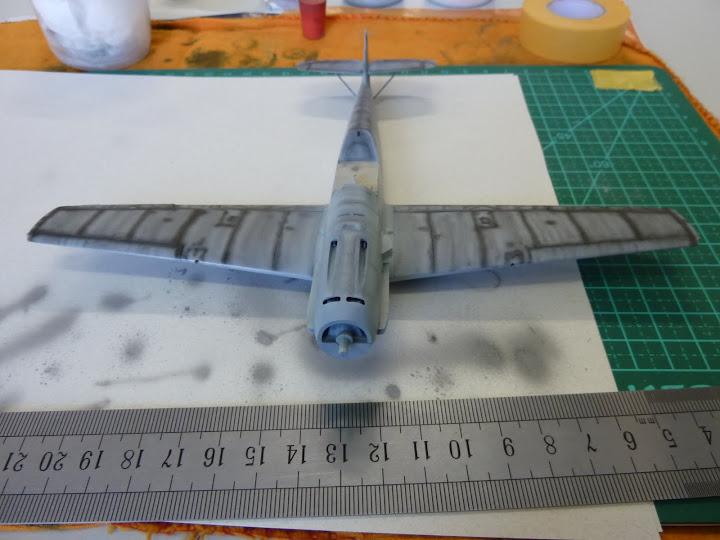 Bf-109 E-3 Tamiya 1/48 - Reforma pintura P1020463
