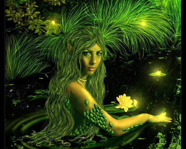 Green Elven Undine, Undines