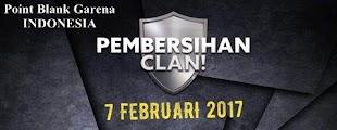 Point Blank Garena Indonesia (PBGI) Kembali Bersih-Bersih Clan