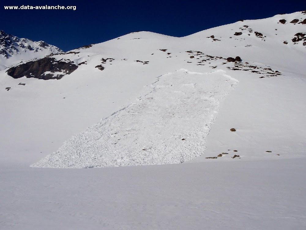 Avalanche Maurienne, secteur Lac de Bissorte, Les Marches - Photo 1