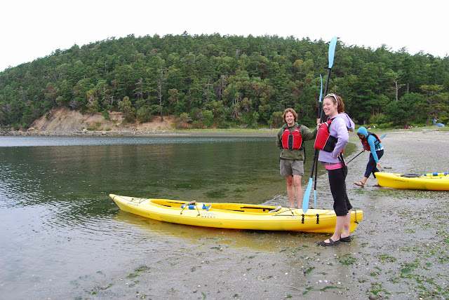 Getting ready to kayak along Sucia Island / Credit: Bellingham Whatcom County Tourism