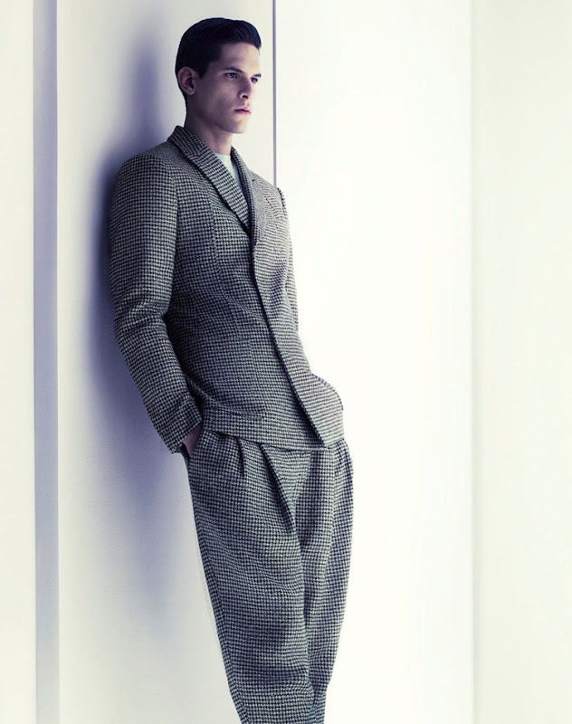 Diego Fragoso @ Request by Mert & Marcus for Giorgio Armani F/W 2011-12 campaign
