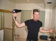 Twentysix Making His Crazy Hair Spikes