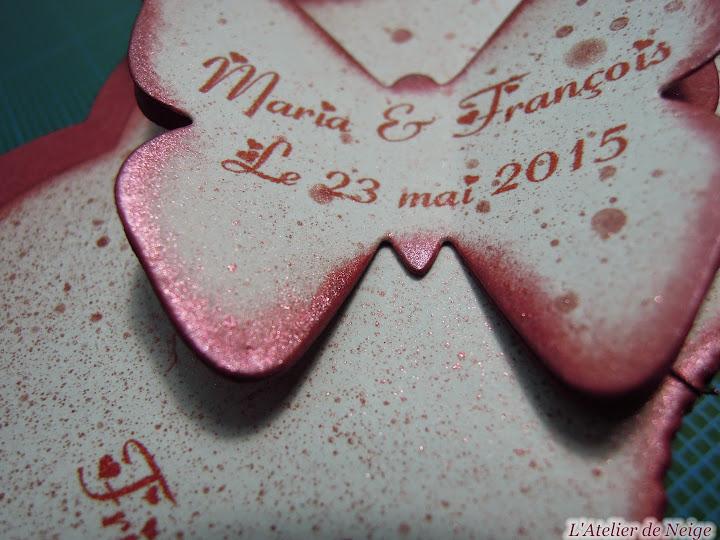 263 - Menus Mariage  Maria et François 23 mai 2015