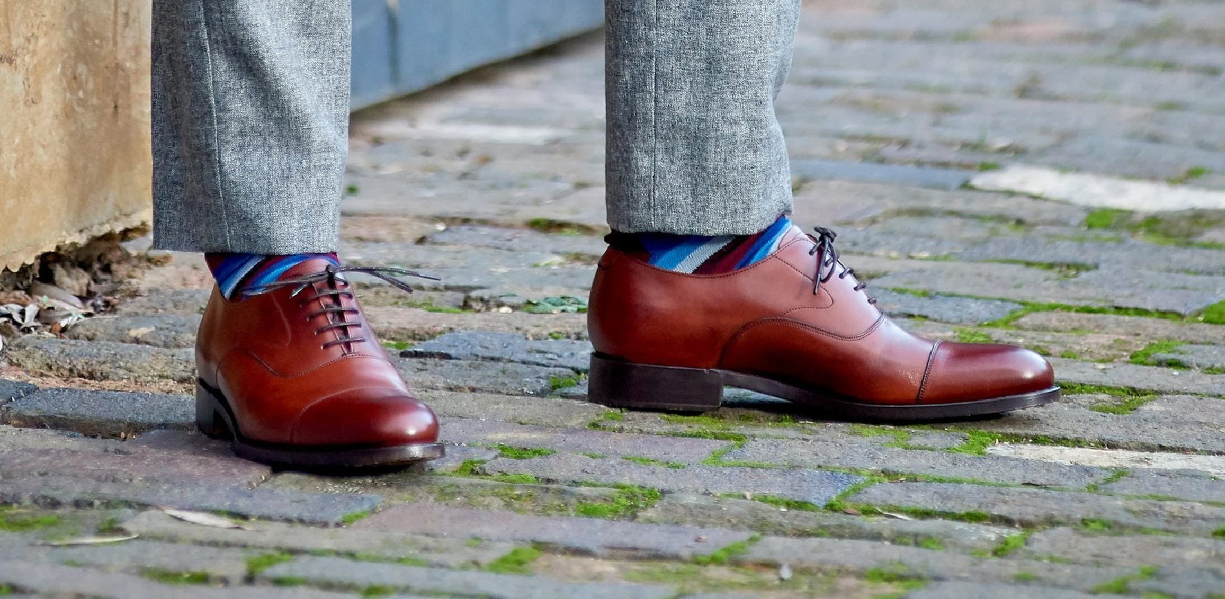 Malvern - Men's Handmade  Leather Oxford Shoes By Barker